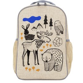 SoYoung Wee Gallery Nordic Raw Linen Gradeschool Backpack