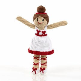 Pebble Ballerina Rattle, Pebble
