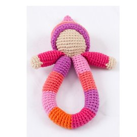 Pebble Pink Pixie Rattle Ring