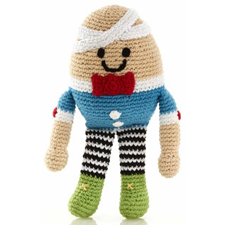 Pebble Humpty Dumpty Rattle