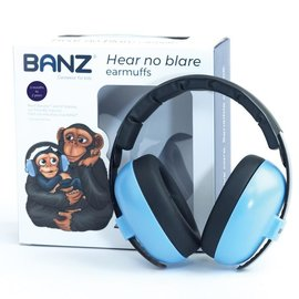 Baby Banz Sky Blue Mini Earmuffs, 0-2 years