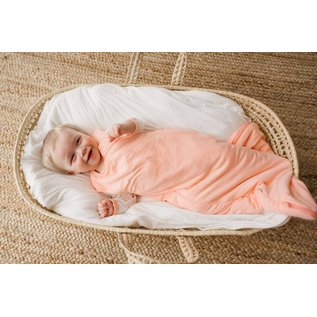 Kyte Baby Bamboo Sleep Bag 0.5 TOG, Peach