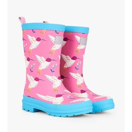 Hatley Graceful Hummingbirds Matte Rain Boots