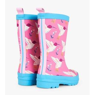 Hatley Graceful Hummingbirds Matte Rain Boots