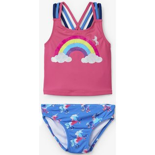 Hatley Rainbow Unicorns Tankini Set