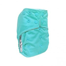 La Petite Ourse One-Size Snap Pocket Diaper, Turquoise