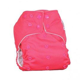La Petite Ourse One-Size Snap Pocket Diaper, Fuchsia
