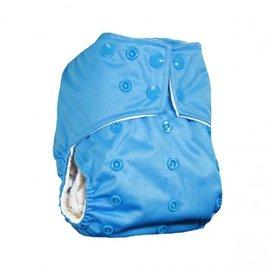 La Petite Ourse One-Size Snap Pocket Diaper, Azure