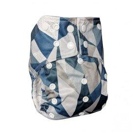 La Petite Ourse One-Size Snap Pocket Diaper, Graphico
