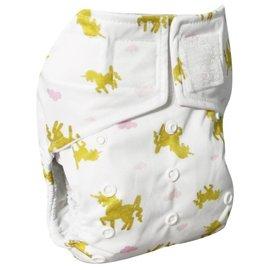 La Petite Ourse One-Size Snap Pocket Diaper, Unicorn
