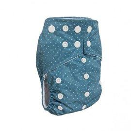 La Petite Ourse Triangle One-Size Snap Pocket Diaper