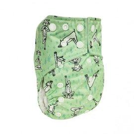La Petite Ourse One-Size Snap Pocket Diaper, Namaste