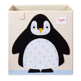 3 Sprouts Storage Box, Penguin