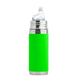 Pura Kiki Green Pura 260ml Insulated Sippy Bottle