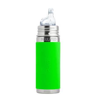 Pura Kiki Green Pura 260ml Insulated Sippy Bottle