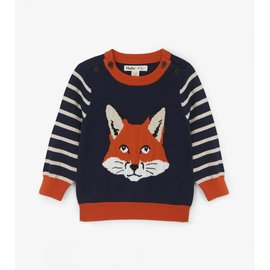 Hatley Clever Fox Baby Sweater