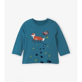 Hatley Clever Fox L/S Baby Tee