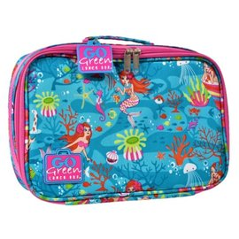 Go Green Mermaid Paradise Leakproof Lunchbox Set