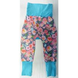 Rainy Day Peonies Grow With Me Pants 6mo-3y