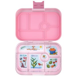 Yumbox Hollywood Pink Original 6 Compartment Yumbox