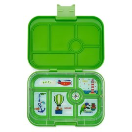 Yumbox Cilantro Green Original 6 Compartment Yumbox