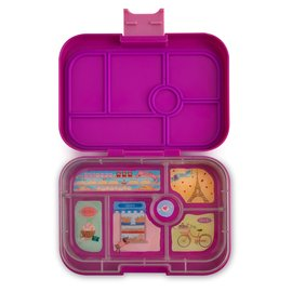 Yumbox Bijoux Purple Original 6 Compartment Yumbox