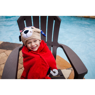 Zoochini Peyton the Pirate Dog Big Kid Towel