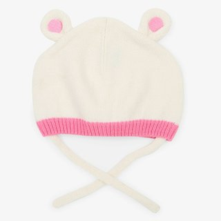 Polar Bear Ears Baby Hat