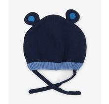 Blue Bear Ears Baby Hat