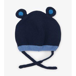 Hatley Blue Bear Ears Baby Hat