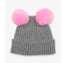 Pom Pom Ears Winter Hat