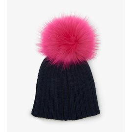 Hatley Pink Pom Pom Winter Hat