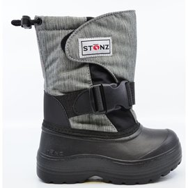 Stonz Heather Grey Trek Winter Boots