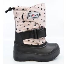 Haze Pink Star Print Trek Winter Boots
