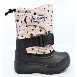 Stonz Haze Pink Star Print Trek Winter Boots