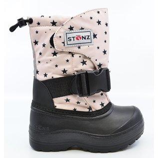 Stonz Haze Pink Star Print Trek Winter Boots