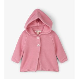 Hatley Rose Shimmer Baby Sweater Hoodie