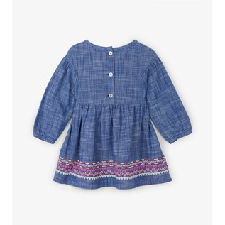 Hatley Dolled Up Chambray Baby Woven Dress