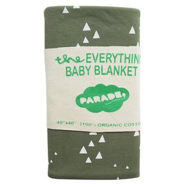 Parade Organics Olive Mountains Organic 'Everything' Blanket