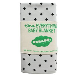 Parade Organics Swiss Cross Organic 'Everything' Blanket