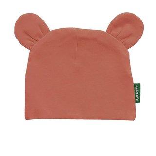 Pumpkin Spice Organic Bear Hat, 0-6m