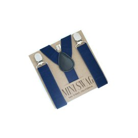 Mini Swag Navy Suspenders