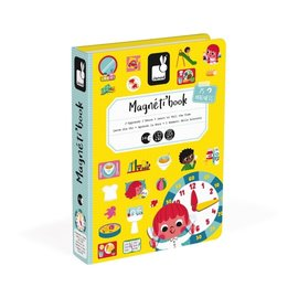 Janod Learn To Tell Time Magnetibook