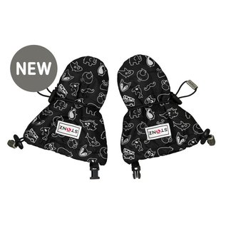 Stonz Black Stonz Print Infant Mittz