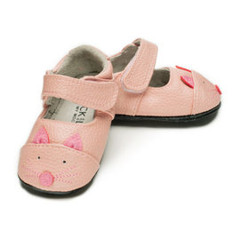 Jack & Lily Robin Pink Kitty My Mocs