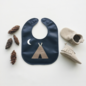 Mally Bibs Teepee Leather Bib
