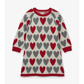 Hatley Festive Hearts Sweater Dress