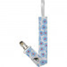 Puffin Gear Blue Pansy Puffin Gear Pacifier Clip