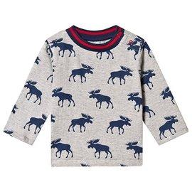 Hatley Moose Silhouettes Long Sleeve Baby Tee