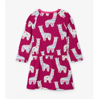 Hatley Adorable Alpacas Dress